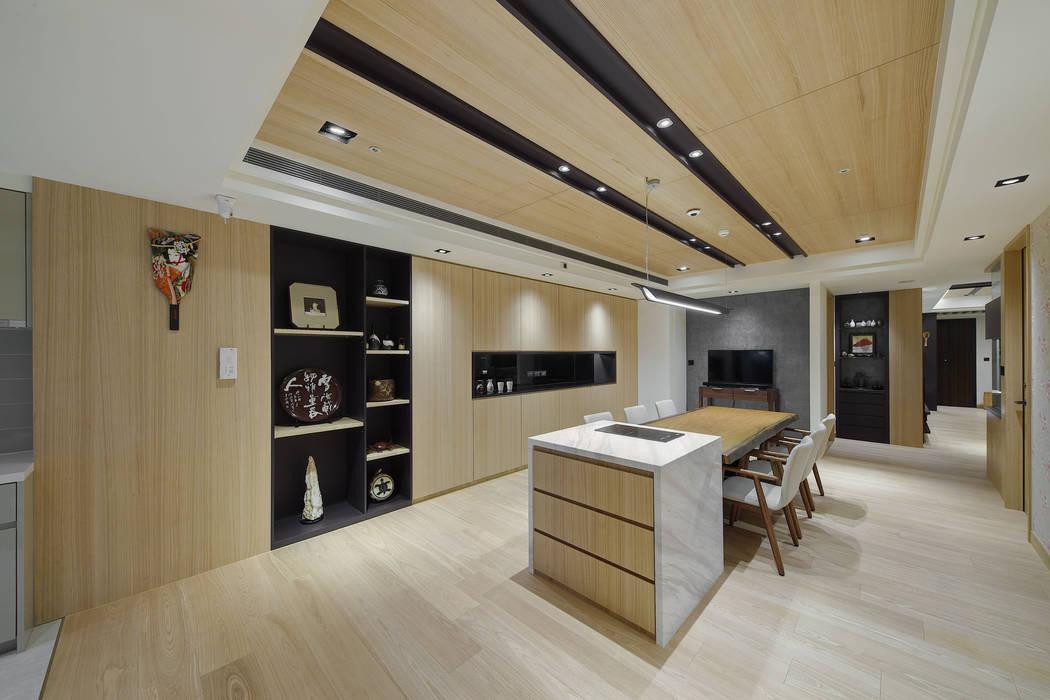 溫潤禪風 根據 邑舍室內裝修設計工程有限公司 日式風、東方風