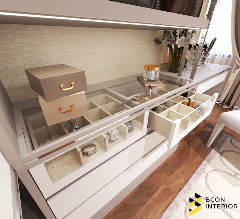 Dressing room by Bcon Interior