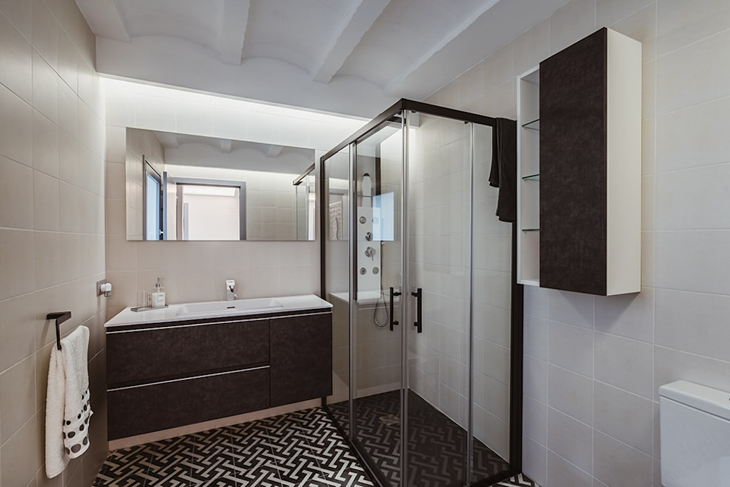 OOIIO Arquitectura en Madrid의  욕실,
