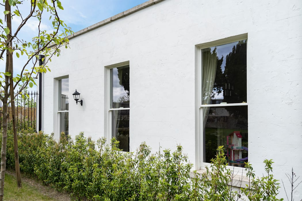 Conservation Window Replacement:  Wooden windows by Marvin Windows and Doors UK