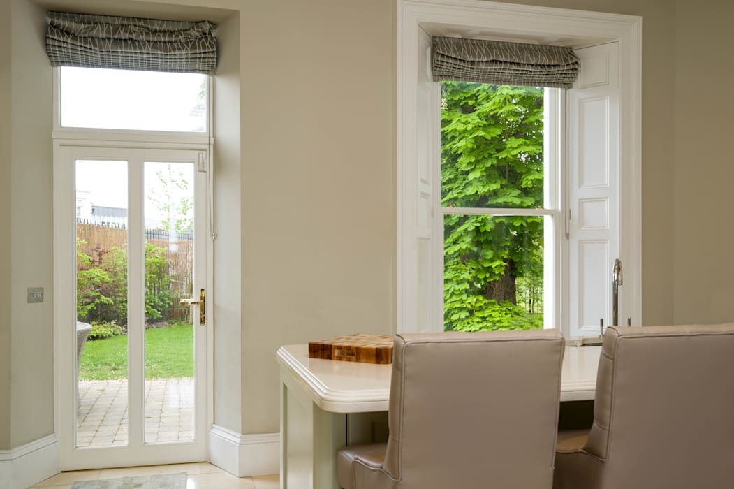 Heritage Window Replacement:  Wooden windows by Marvin Windows and Doors UK,