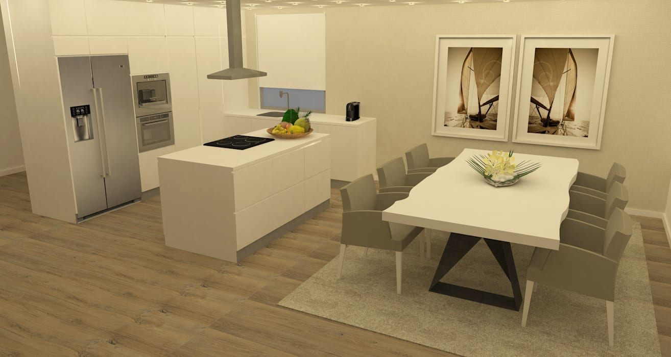Kitchen units by Casactiva Interiores