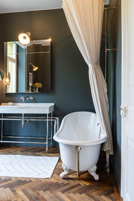 Bad vintage: badezimmer von traditional bathrooms gmbh , | homify