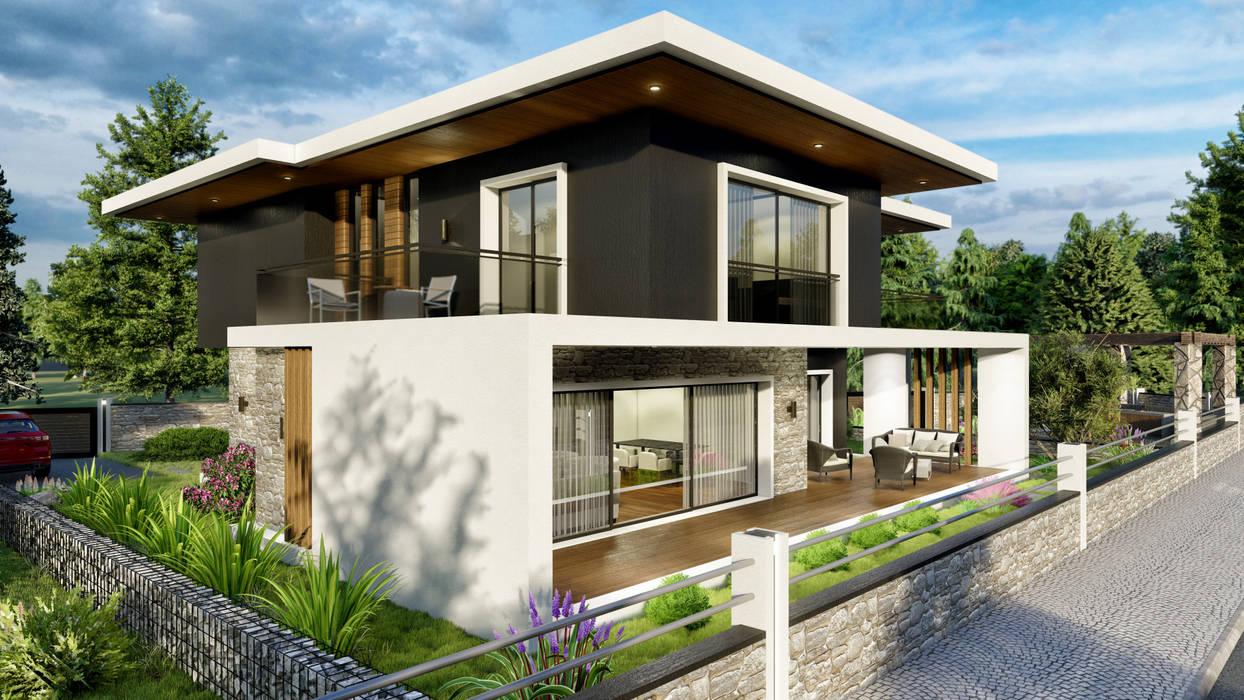 ANTE MİMARLIK  – Çanakkale - Villa:  tarz Evler, Modern