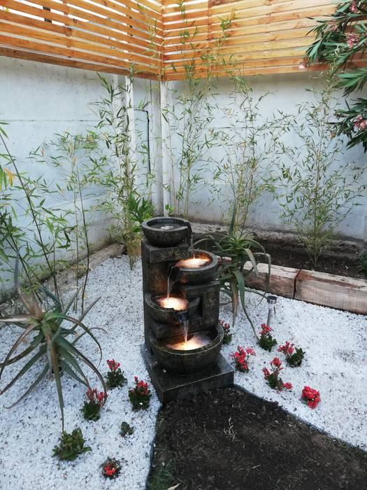 Garden by HZ ARQUITECTOS SANTIAGO DISEÑO COCINAS JARDINES PAISAJISMO REMODELACIONES OBRA, Minimalist