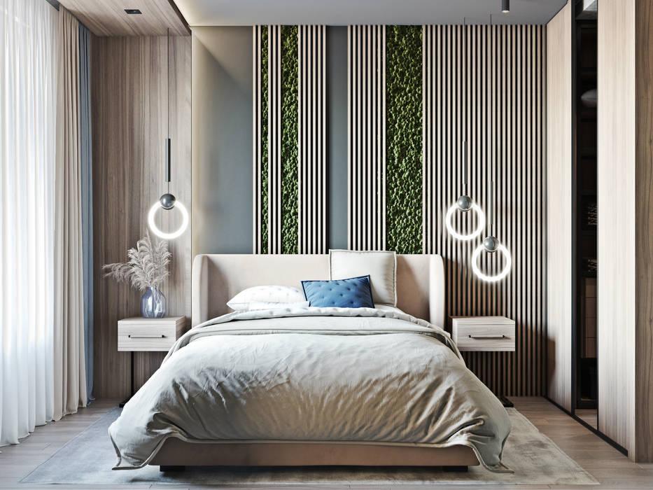 Bedroom by Mstudio, Industrial