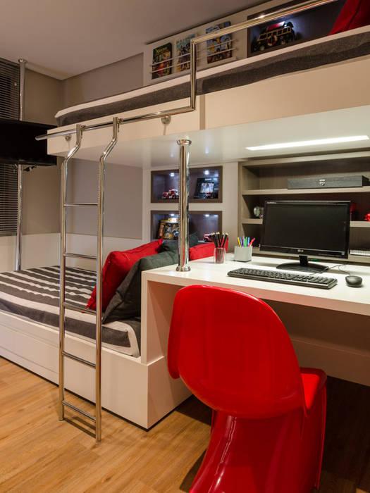 Dormitorios infantiles de estilo moderno de BG arquitetura | Projetos Comerciais Moderno