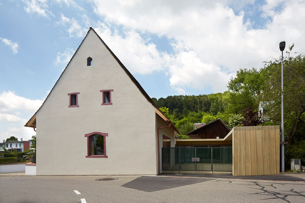 Baslerhofscheune Bettingen Moderne Veranstaltungsorte von Ave Merki Architekten Modern Stein