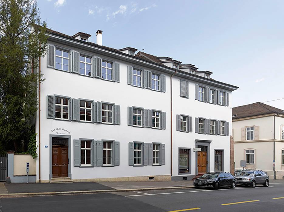 Liegenschaft Petersgraben basel Klassische Häuser von Ave Merki Architekten Klassisch
