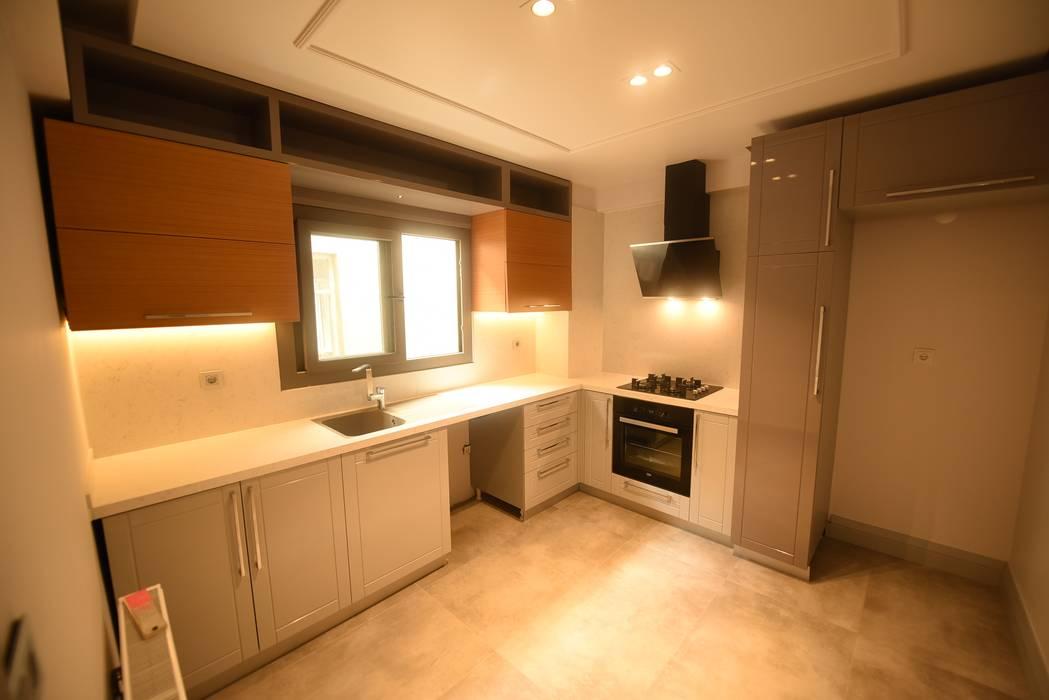 Orby İnşaat Mimarlık – Mutfak - Tamamlanmış Hali:  tarz