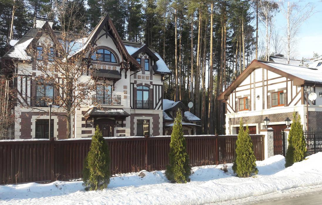 Projekty,  Domy zaprojektowane przez Studio Design-rise , Klasyczny