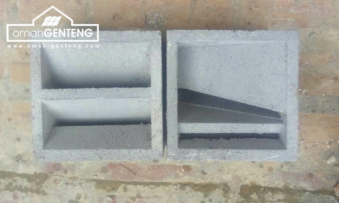 HP/WA: 08122833040 - Roster Beton Banyuwangi - Omah Genteng Kantor & Toko Minimalis Oleh Omah Genteng Minimalis Beton