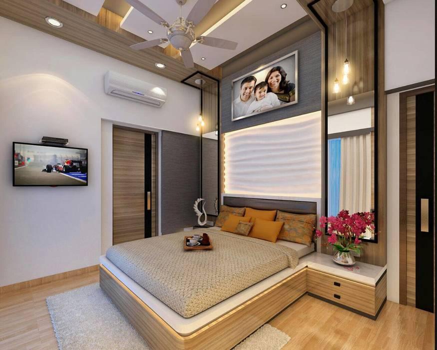 Bedroom Design Ideas Square 4 Design Build Modern Style Bedroom Homify