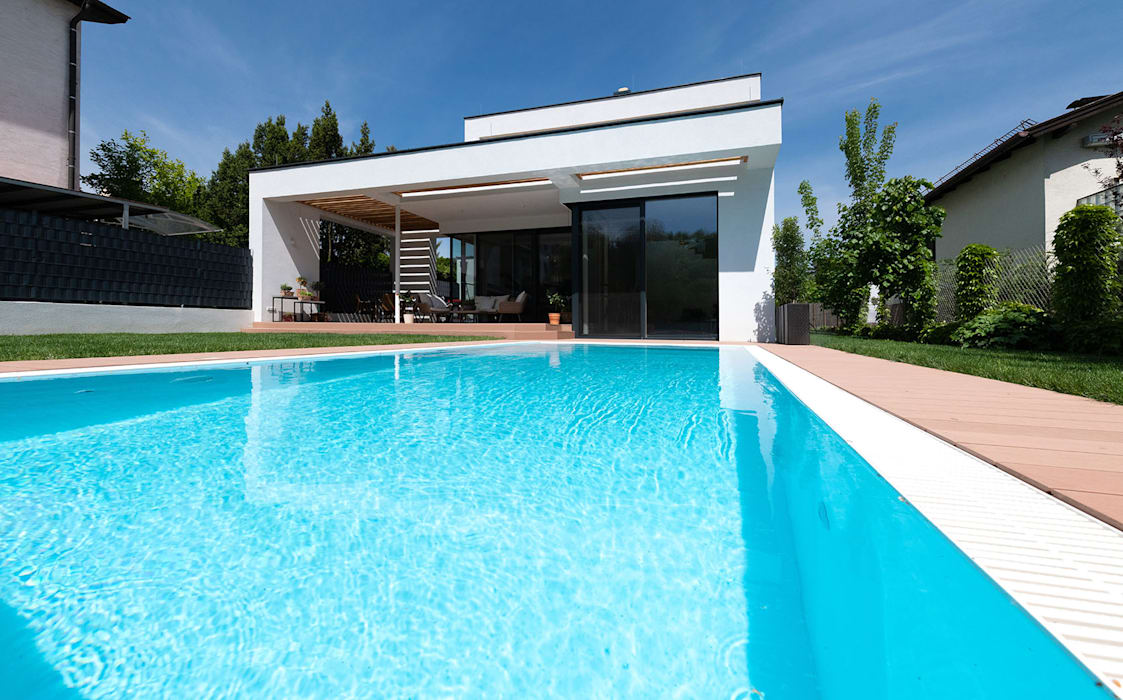 Modern pool by AL ARCHITEKT - in Wien Modern