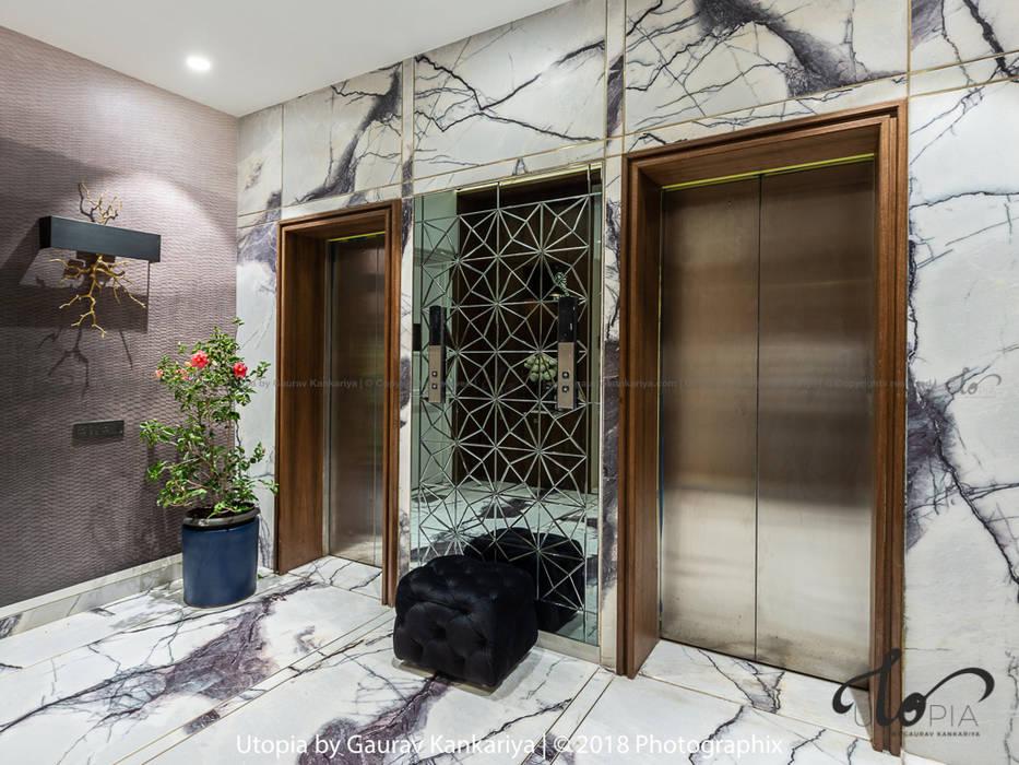 Rêveur - Castle Royale Utopia by Gaurav Kankariya Modern corridor, hallway & stairs