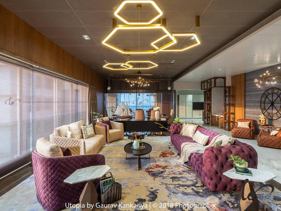 Utopia by Gaurav Kankariya Living room