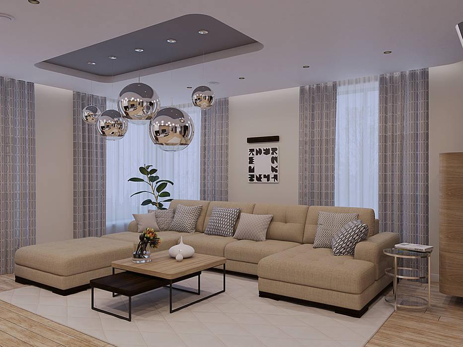 Salas de estilo minimalista de Wide Design Group Minimalista