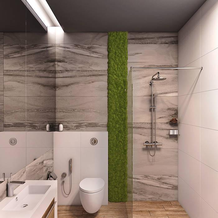 浴室 by Wide Design Group, 簡約風