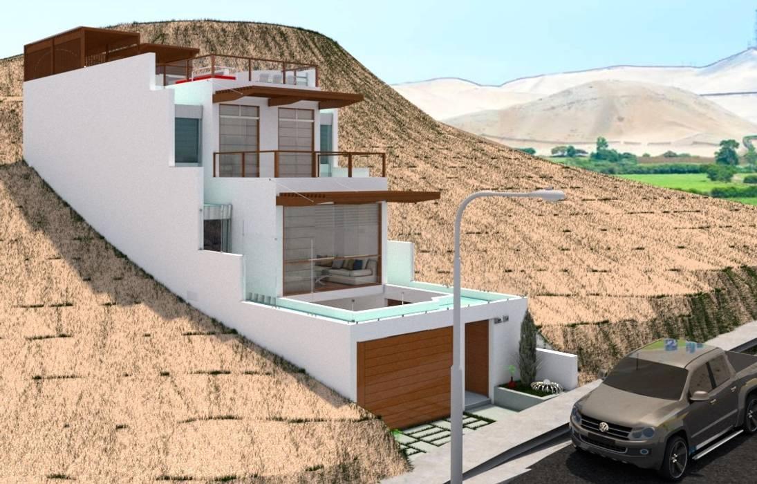 Minimalistische Häuser von Corporación Siprisma S.A.C Minimalistisch