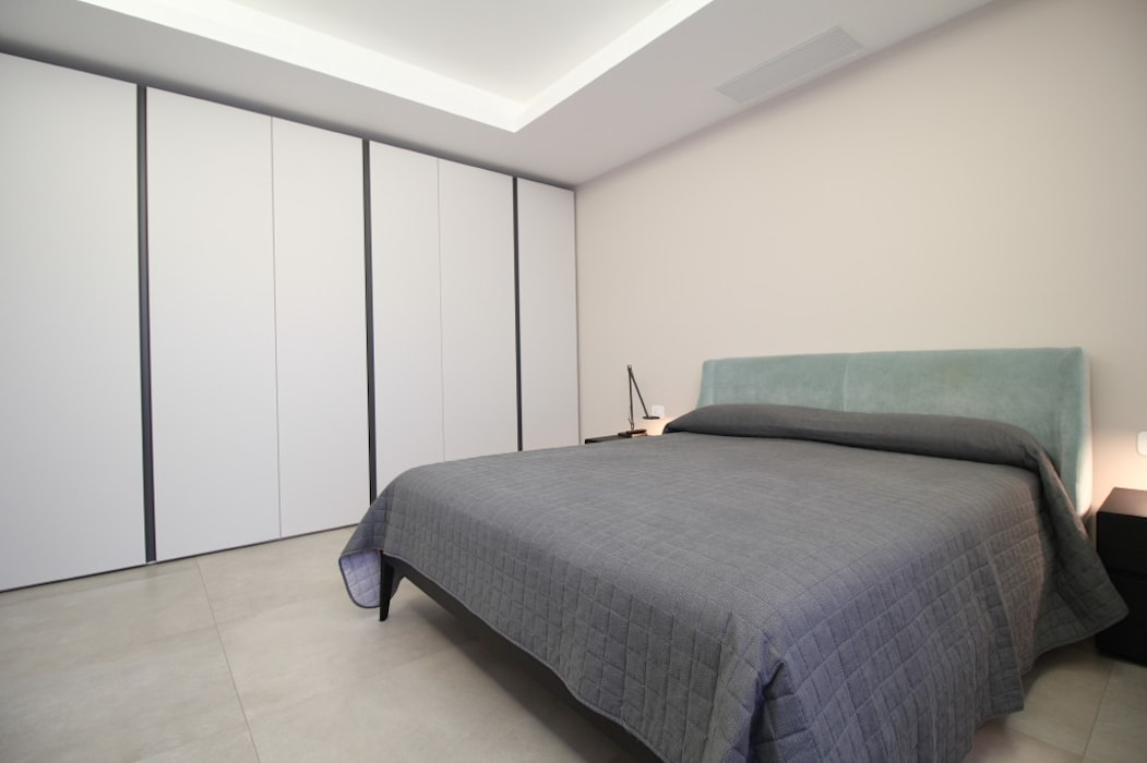 Modern style bedroom by Giuseppe Rappa & Angelo M. Castiglione Modern