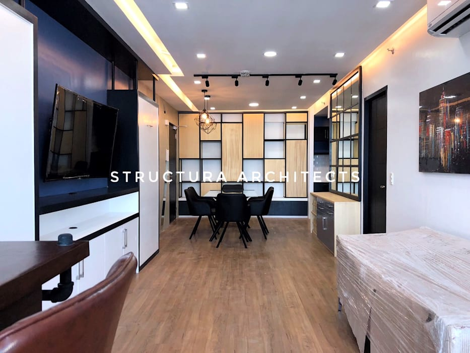 """Dining Area: {:asian=>""""asian"""", :classic=>""""classic"""", :colonial=>""""colonial"""", :country=>""""country"""", :eclectic=>""""eclectic"""", :industrial=>""""industrial"""", :mediterranean=>""""mediterranean"""", :minimalist=>""""minimalist"""", :modern=>""""modern"""", :rustic=>""""rustic"""", :scandinavian=>""""scandinavian"""", :tropical=>""""tropical""""}  by Structura Architects,"""