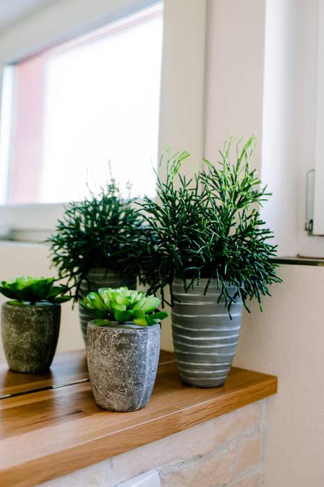 Pflanzen für die toilette moderne badezimmer von t ...