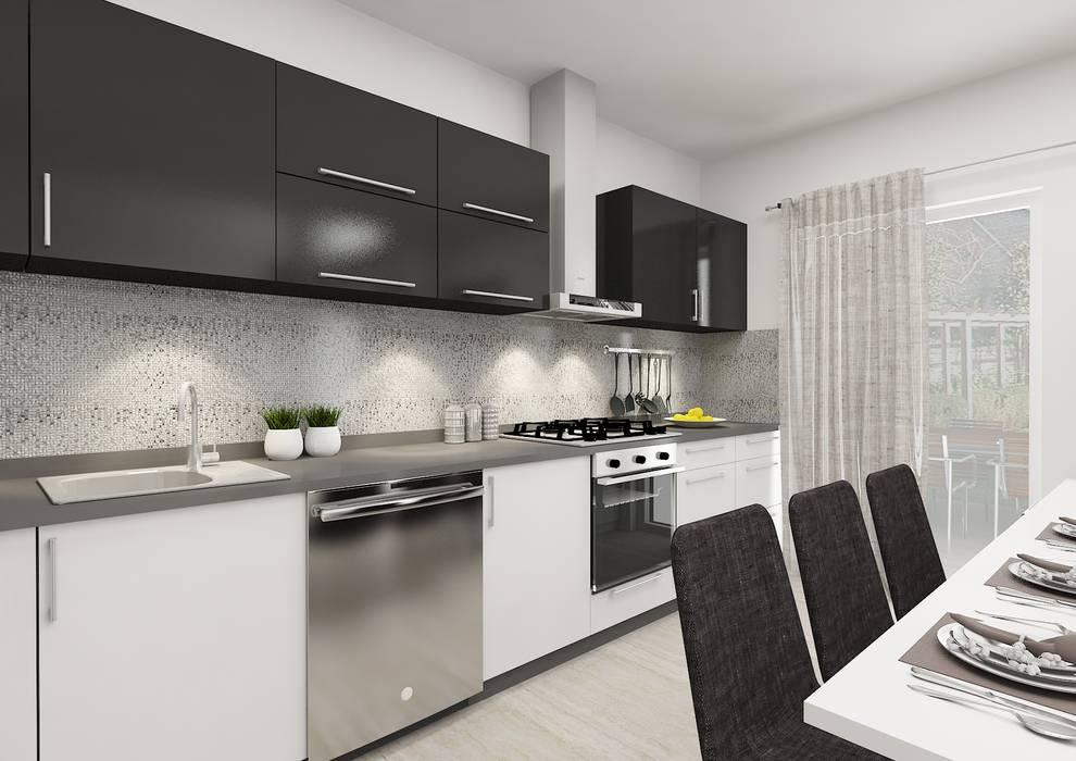 Minimalist kitchen by PRATIKIZ MIMARLIK/ ARCHITECTURE Minimalist