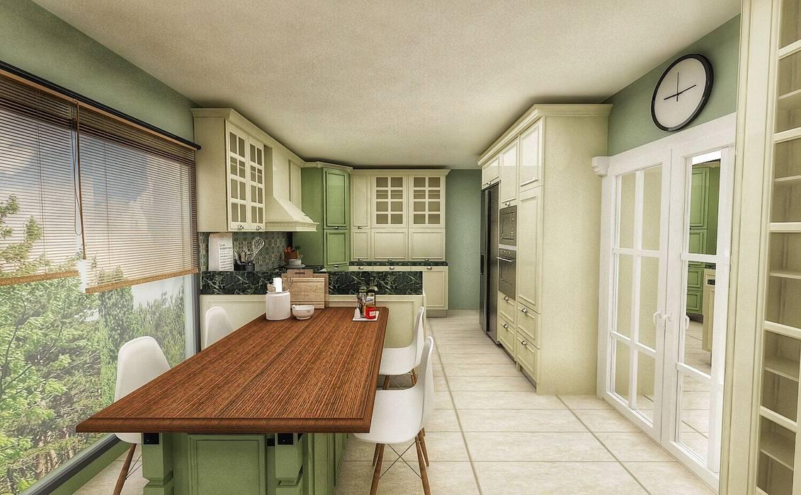 Kitchen by PRATIKIZ MIMARLIK/ ARCHITECTURE,