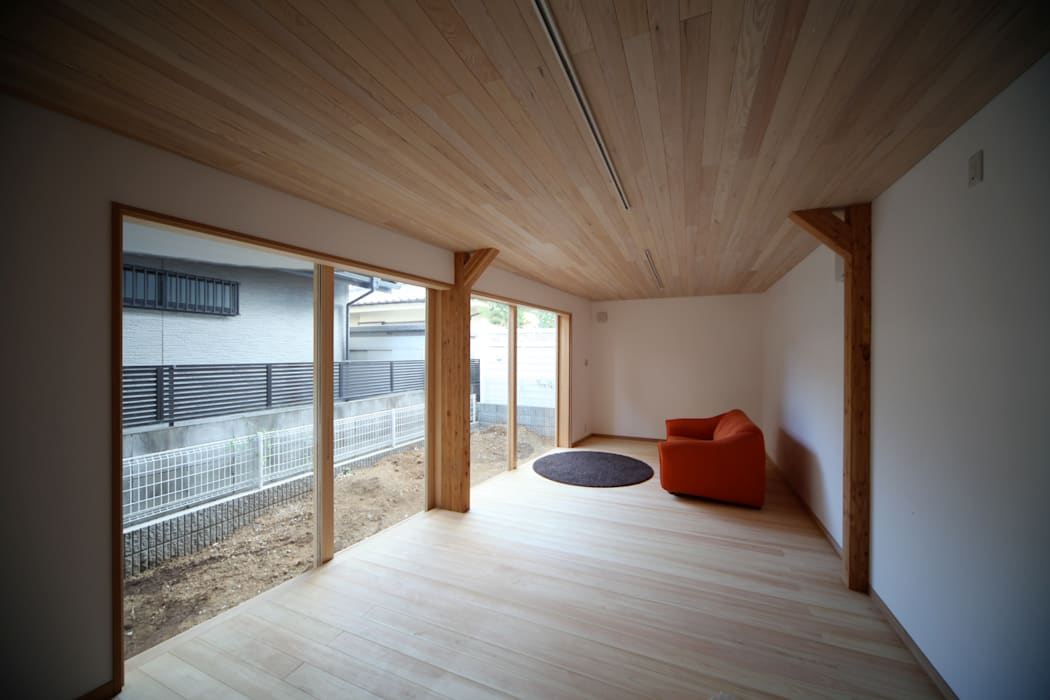 居室 北欧デザインの 書斎 の 株式会社高野設計工房 北欧