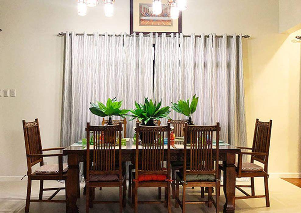 Eetkamer door SNS Lush Designs and Home Decor Consultancy