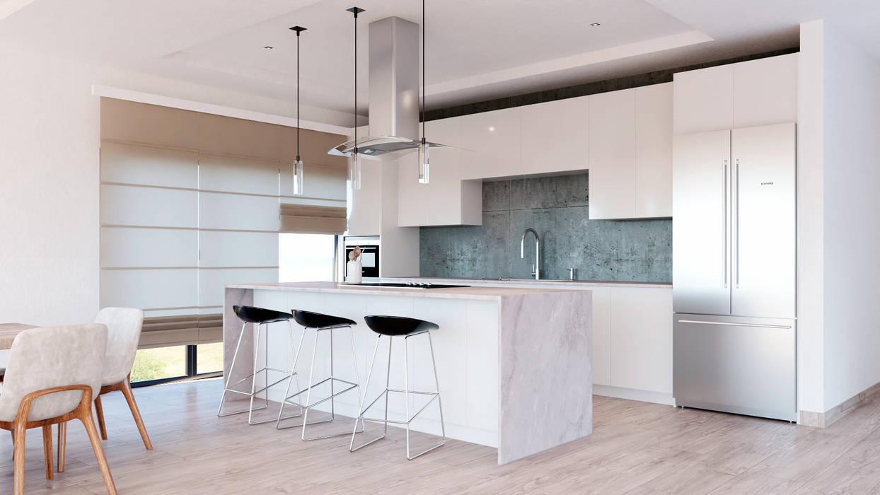CODIAN CONSTRUCTORA Modern kitchen