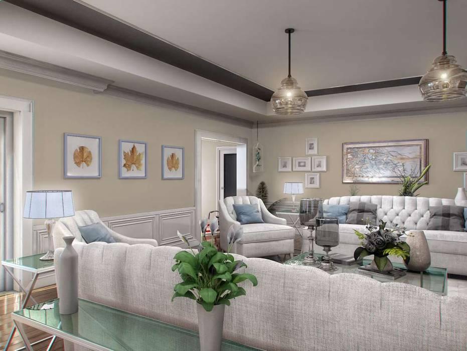 Yunus Emre | Interior Design VERO CONCEPT MİMARLIK Modern living room