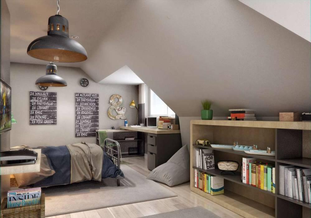 Yunus Emre | Interior Design VERO CONCEPT MİMARLIK Dormitorios de niños