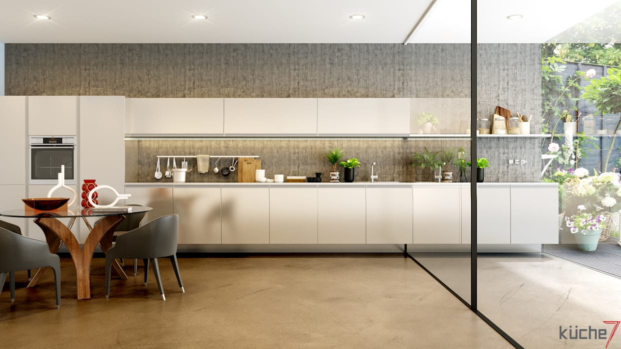 Luxury kitchens that outclasses all other kitchens you've seen:  Built-in kitchens by Küche7