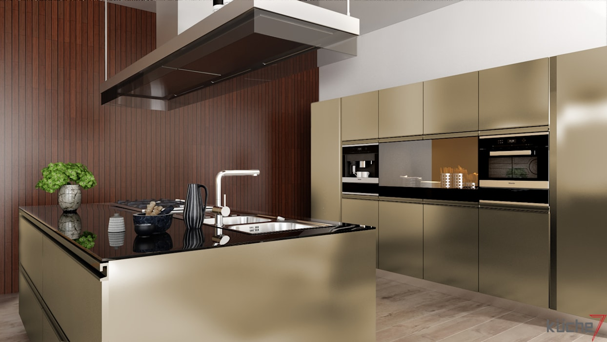 Luxury kitchens that outclasses all other kitchens you've seen Modern kitchen by Küche7 Modern
