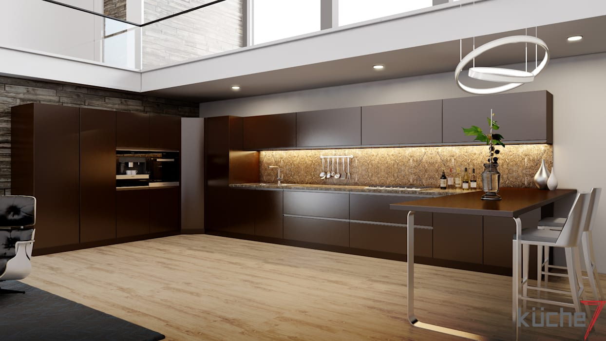 Built-in kitchens by Küche7 ,