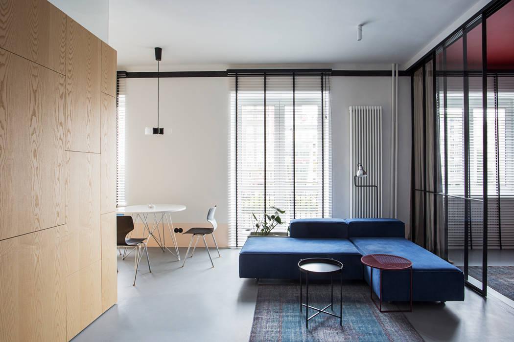 Studio Laas Salones de estilo ecléctico