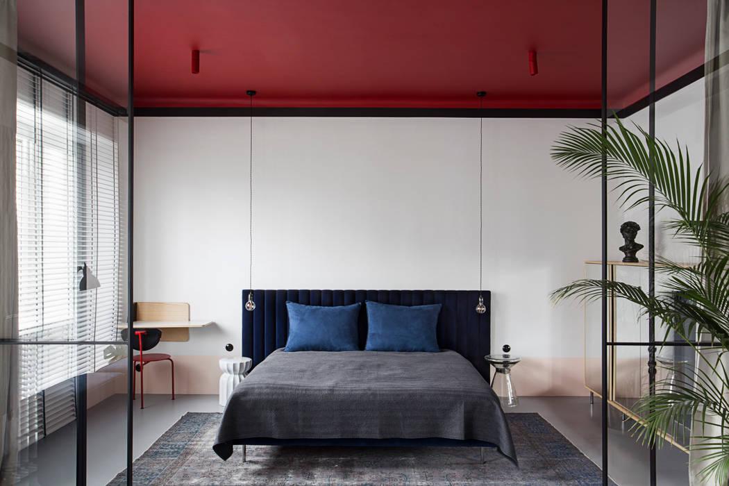 Studio Laas Eclectic style bedroom