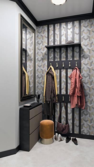 隨意取材風玄關、階梯與走廊 根據 Zibellino.Design 隨意取材風
