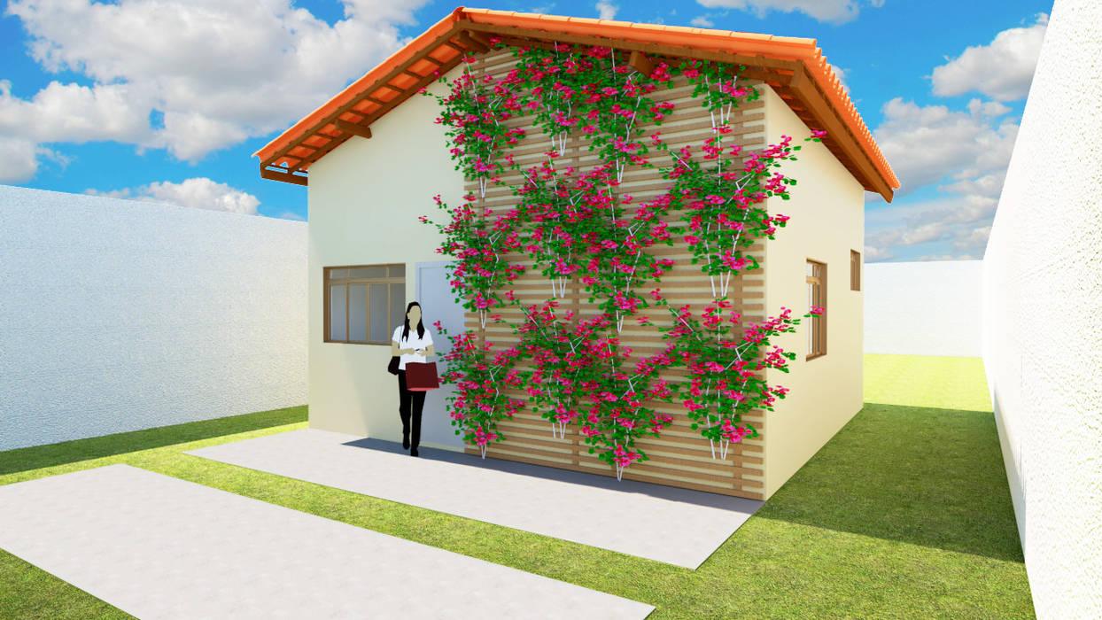Casas de estilo moderno de Strauss - Arquitetura e Interiores Moderno