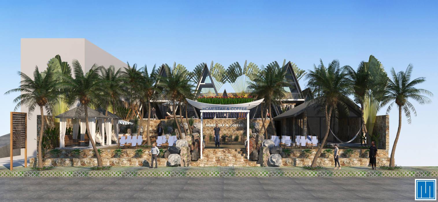 River Homestay and Coffee:  Nhà by Mét Vuông, Nhiệt đới
