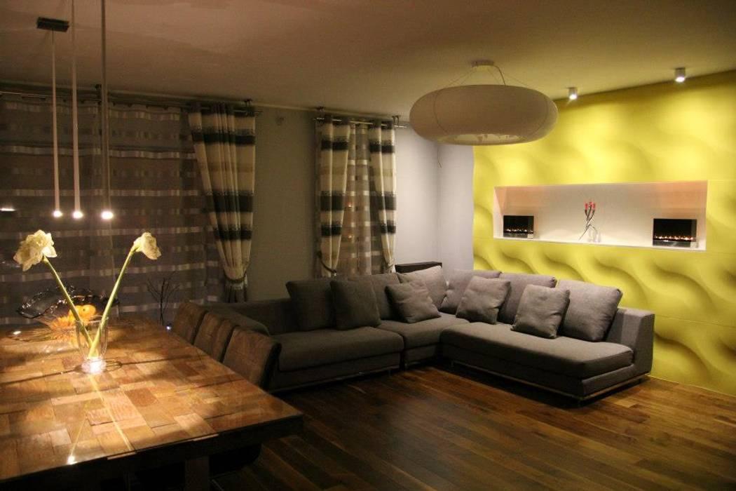 Bilder von unseren kunden - 3d wandpaneele: wohnzimmer von ...