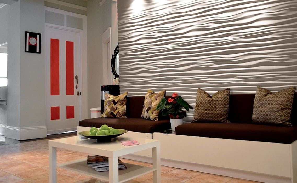 3D Wandpaneele aus Gips Modell Nr. 28 Klassische Wände & Böden von Loft Design System Deutschland - Wandpaneele aus Bayern Klassisch