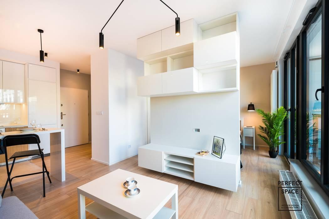 Salones de estilo minimalista de Perfect Space Minimalista