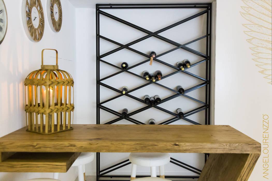 Ruang Penyimpanan Wine/Anggur Gaya Skandinavia Oleh Angelourenzzo - Interior Design Skandinavia