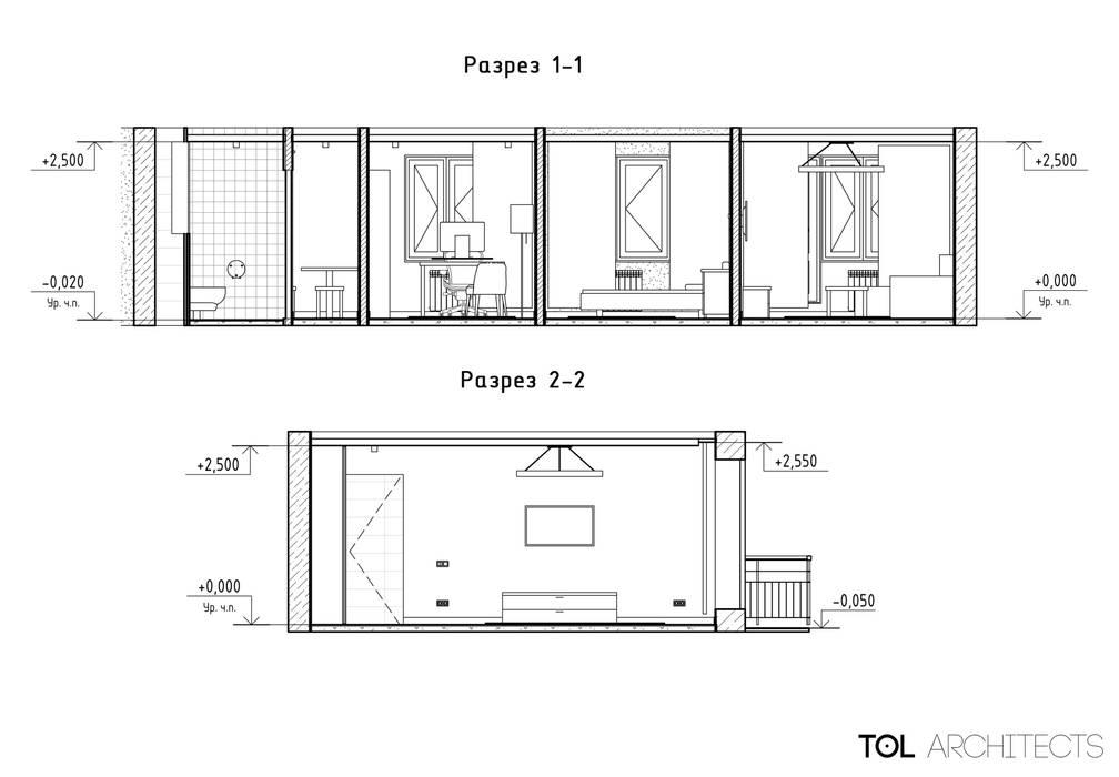 Yachts & Jets de style  par TOL architects, Colonial