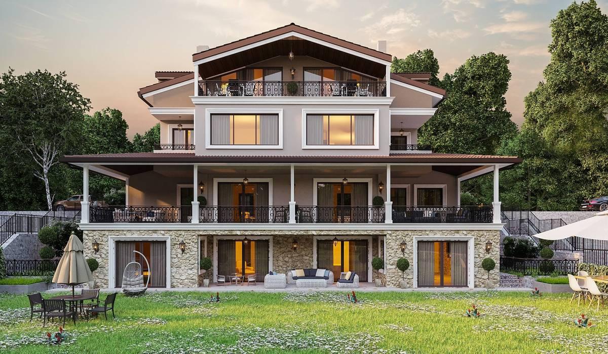 Ş. Öner villa Modern Evler ANTE MİMARLIK Modern