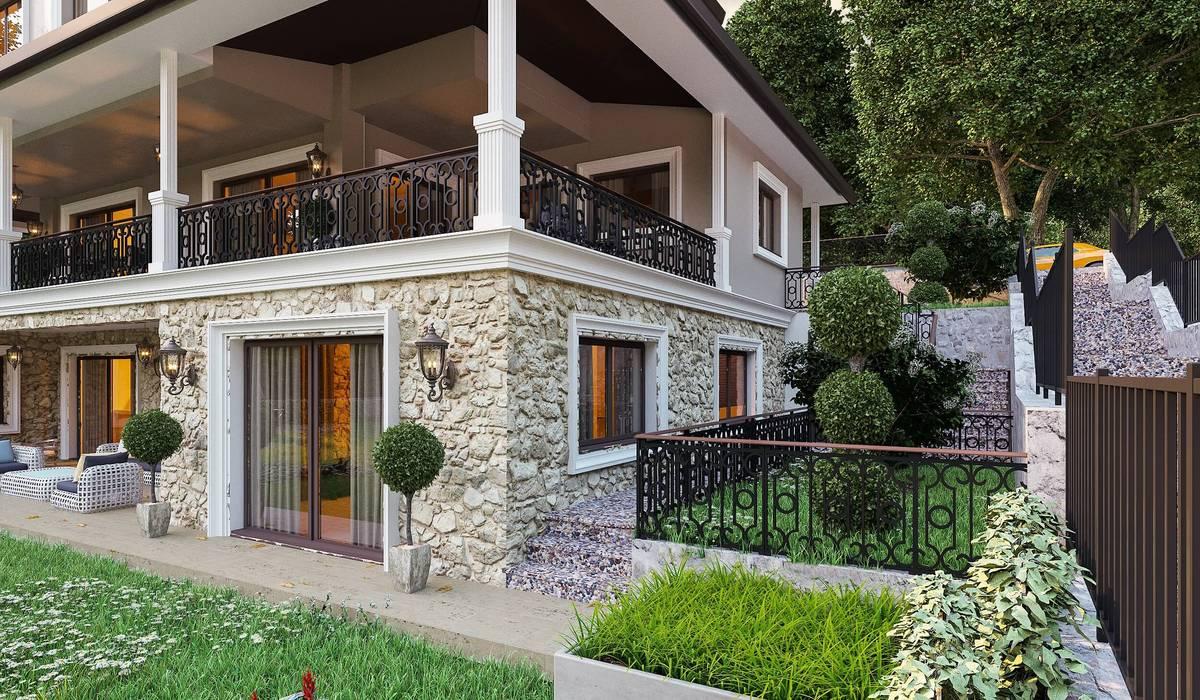 Ş. Öner villa ANTE MİMARLIK Modern
