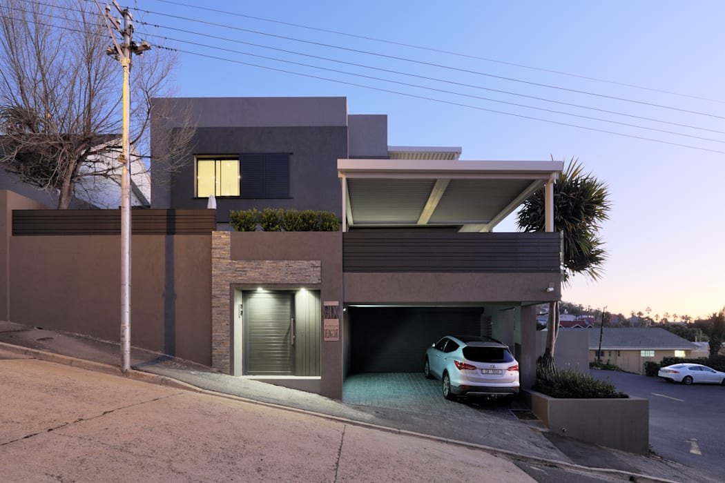 House Drelingcourt Fresnaye Modern houses by KMMA architects Modern