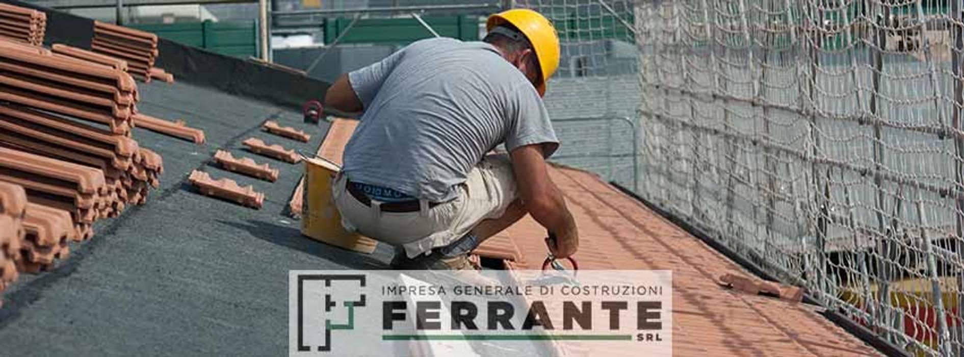 Complesso Il Borghetto: Tetto a falde in stile  di Impresa Generale di Costruzioni Ferrante